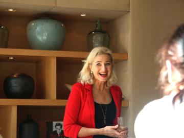 Sabine Vöhringer, schön war's in Frankfurt