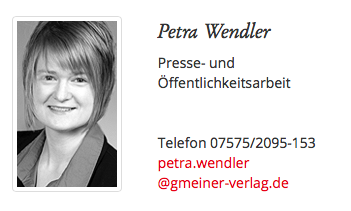 Presse-Ansprechpartner, Petra Wendler, Sabine Vöhringer