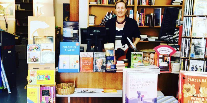 Sabine Voehringer, Die Montez-Juwelen, Krimiautorin, Buchhandlung am Wettersteinplatz