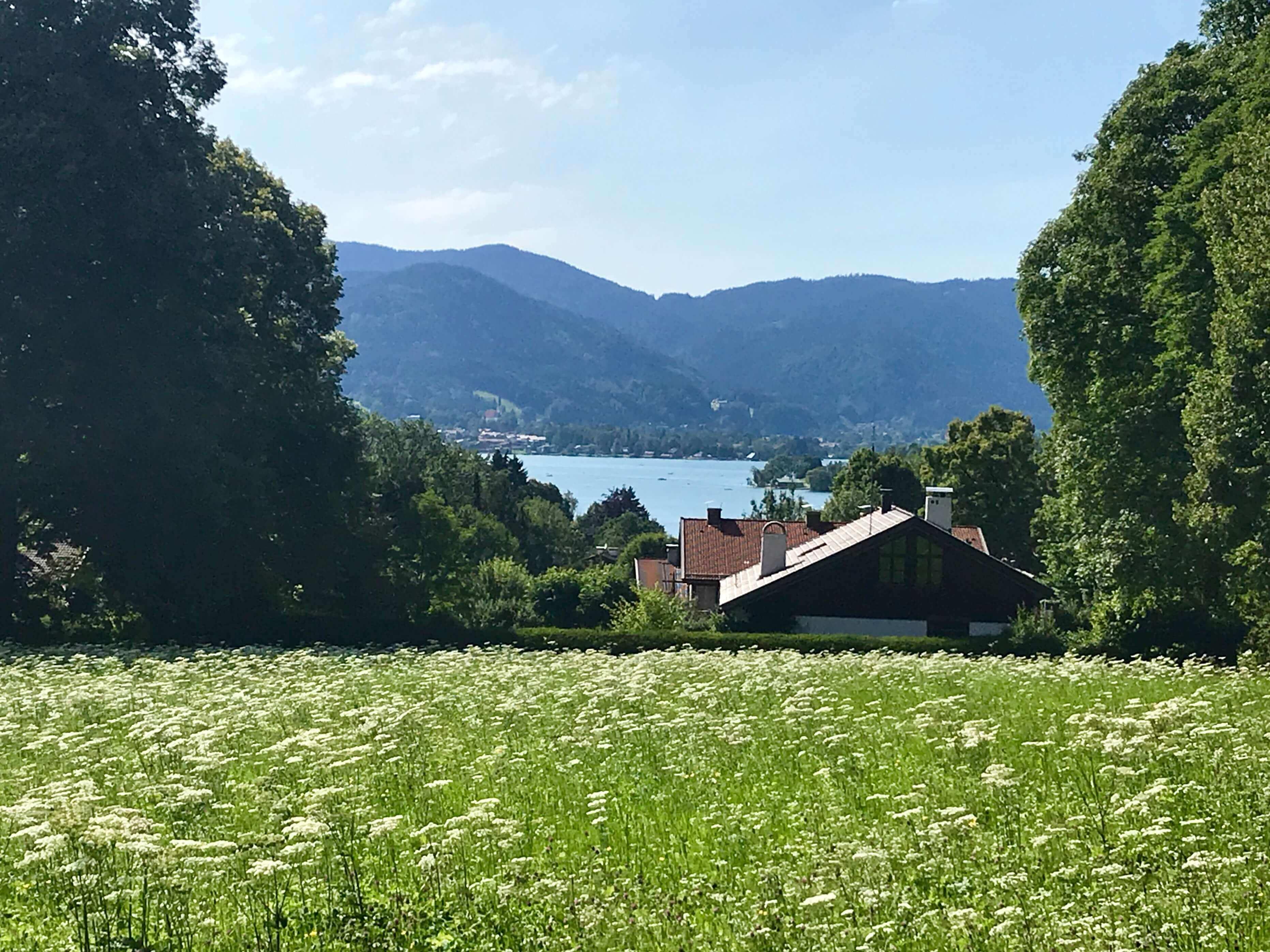 Der Tegernsee Ludwig Thoma Haus