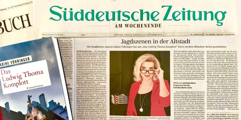 SZ, Sabine Voehringer, das Ludwig Thoma Komplott