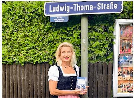 Sabine Vöhringer, das Ludwig Thoma Komplott, Münchner Wochenanzeiger