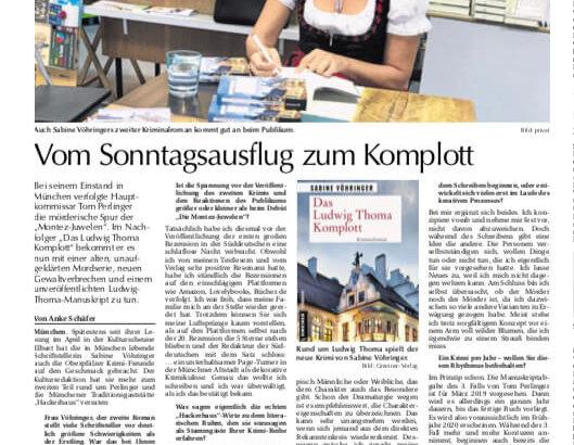 Das Ludwig Thoma Komplott Oberpfalz Medien