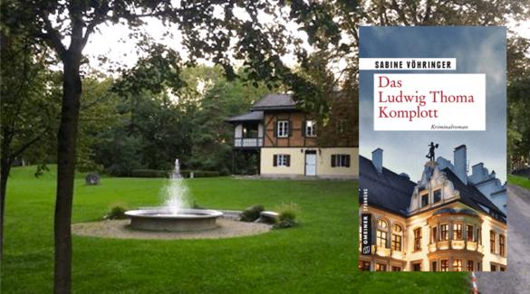 Lesungsmatinée im Jagdhaus Eicherloh, das Ludwig Thoma Komplott, sabine Vöhringer