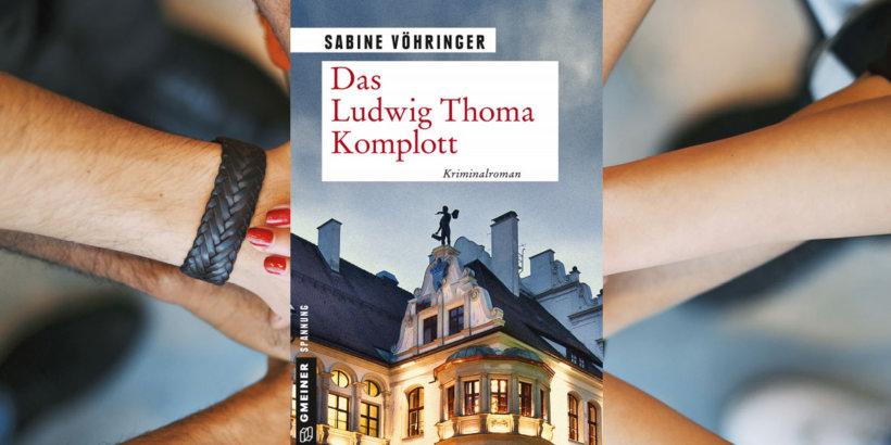 Sabine Vöhringer BIB Augsburg Lesung Das Ludwig Thoma Komplott