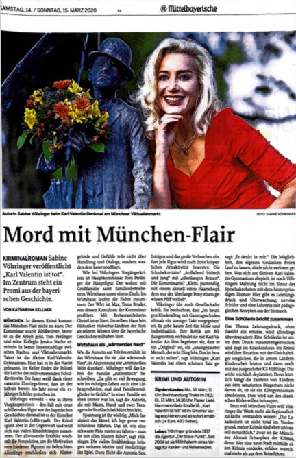 Sabine Vöhringer Mittelbayerische Karl Valentin