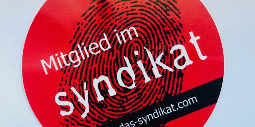 Sabine Voehringer Mitglied beim Syndikat