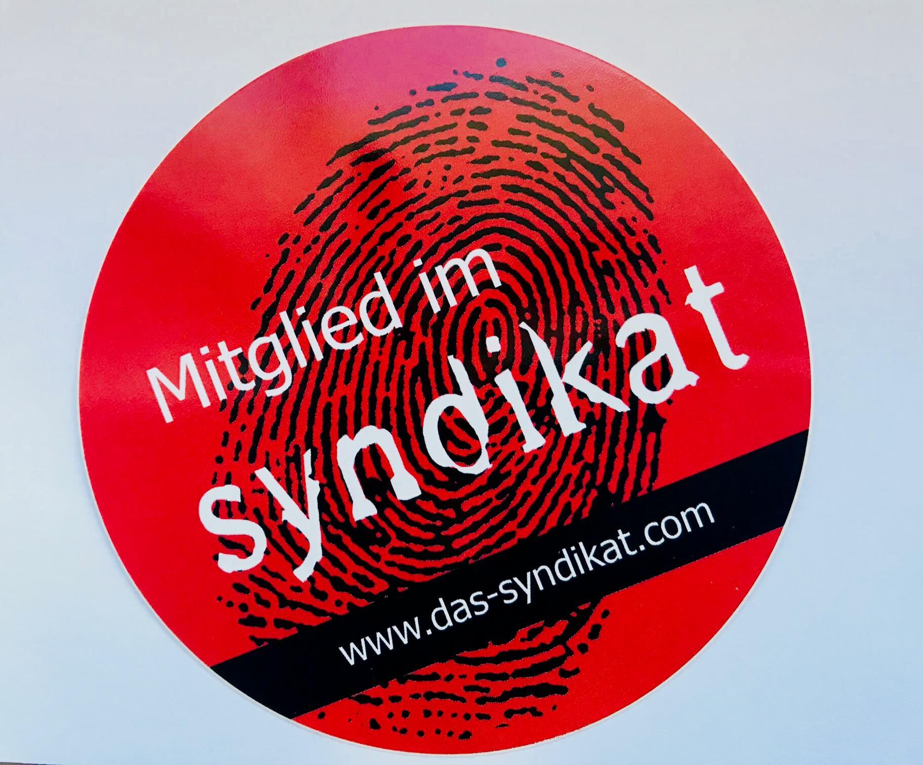 Sabine Vöhringer Mitglied beim Syndikat