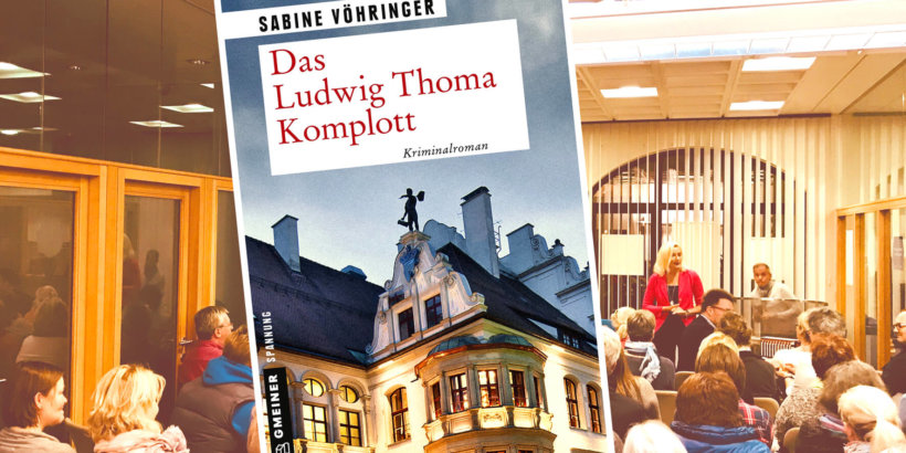 Buchhandlung Kempter Sabine Vöhringer Das Ludwig Thoma Komplott