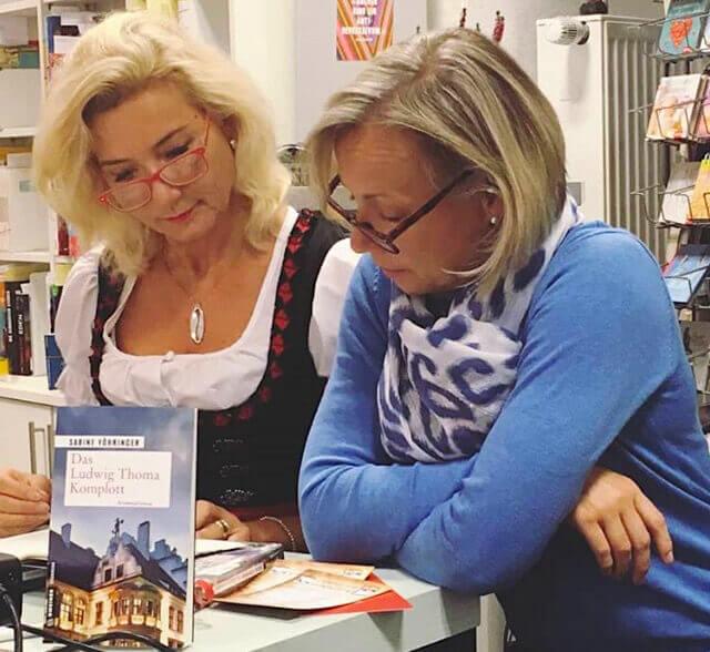 Sabine Voehringer Das Ludwig Thoma Komplott Buch Kempter