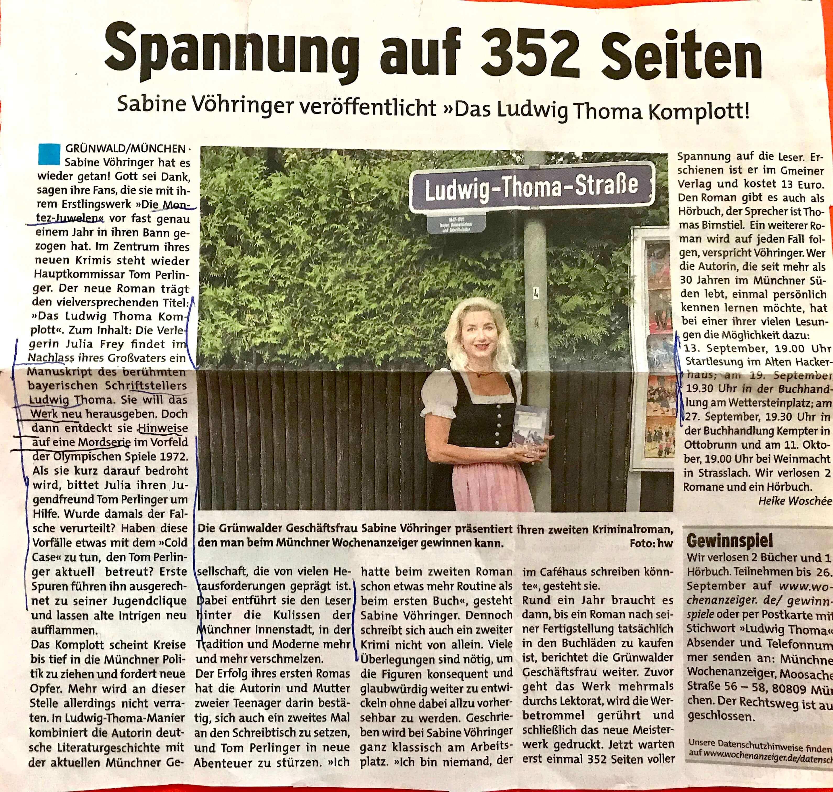 Sabine Vöhringer Wochenblatt neu