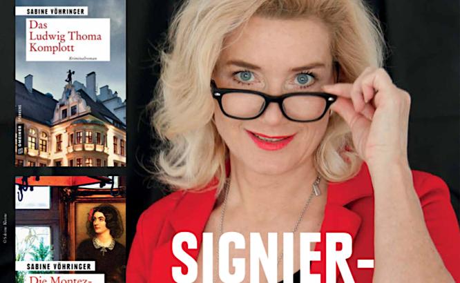 Signierstunde mit der München Krimi Autorin Sabine Voehringer