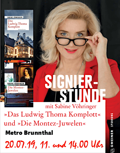 Sabine Voehringer Metro Brunnthal Signierstunde
