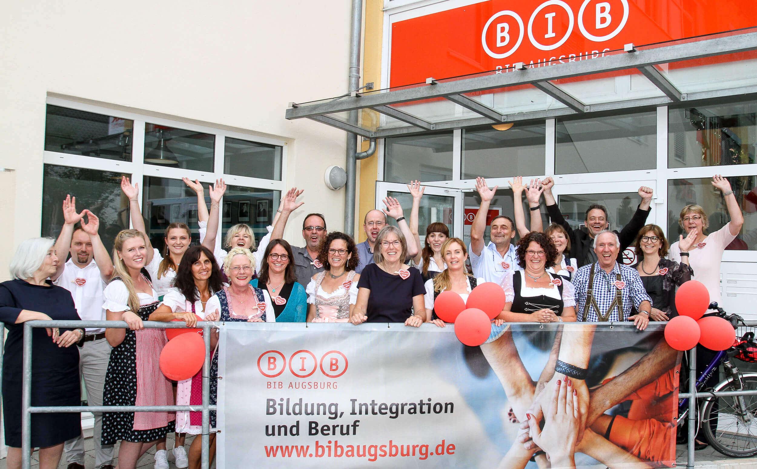 Sabine Vöhringer, Lesung bei der BIB iN Weilheim