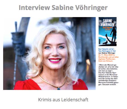 Interview Sabine Vöhringer Karl Valentin ist tot