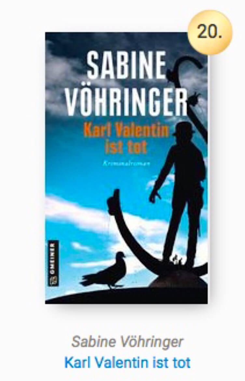 Sabine Voehringer Lovelybooks Leserpreis