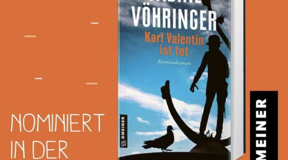 Sabine Voehringer München Krimi Lovelybooks Leserpreis